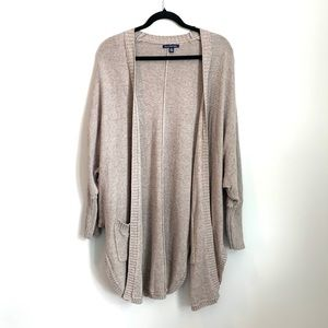 American Eagle Knit Open Front Cardigan Large